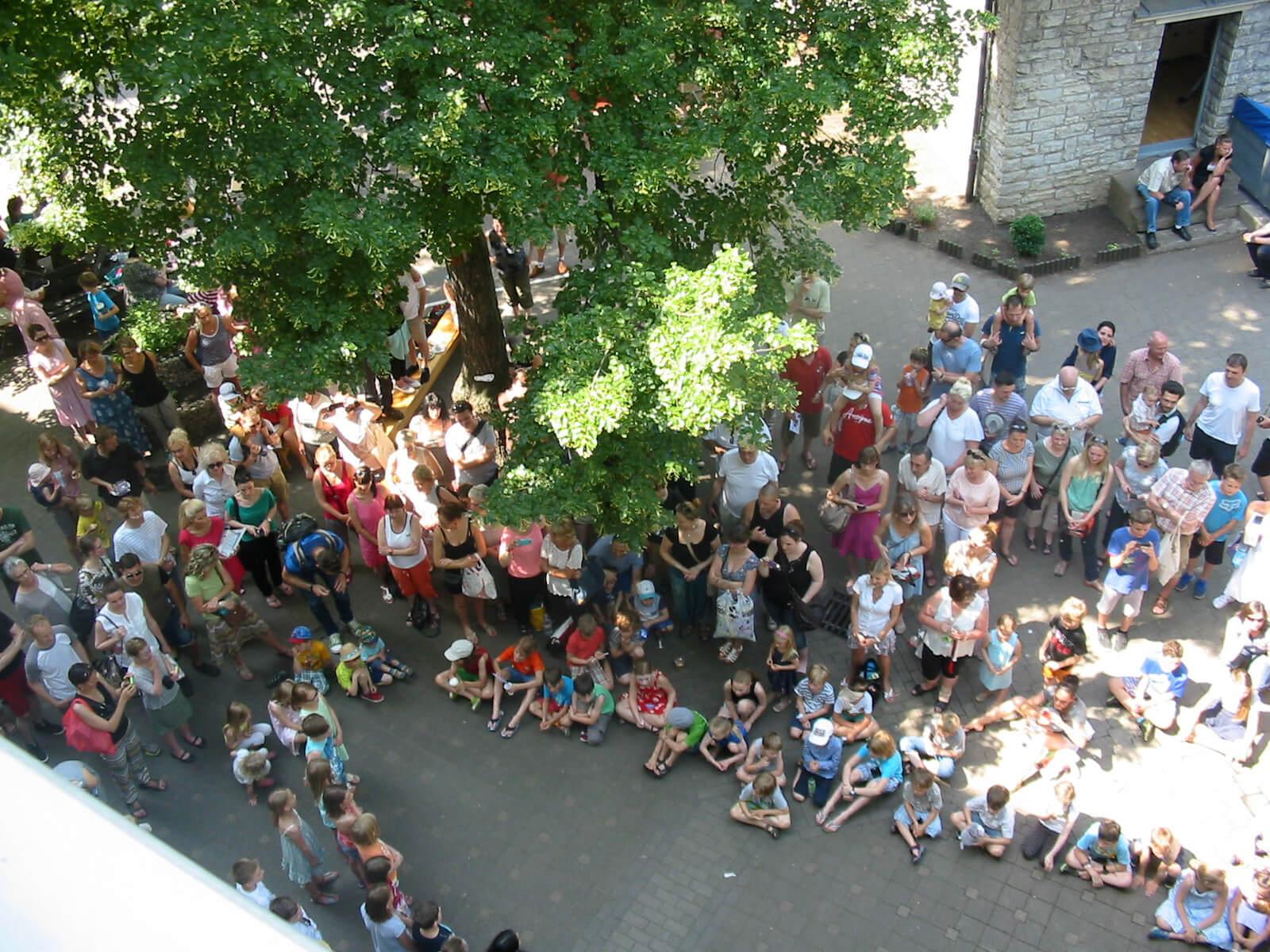 Schulfest Hof
