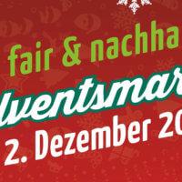 fair & nachhaltig - Adventsmarkt 1
