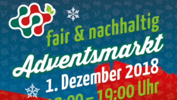 Auftritt am 01.12.18  zum Fairen Adventsmarkt