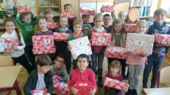 Weihnachtspäckchenkonvoi – 84 Päckchen sind bereits abgeholt