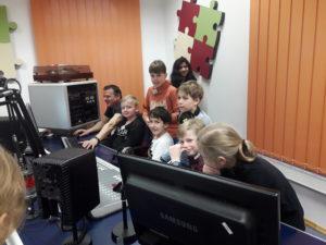 Hörspielprojekt der Klasse 4a 5