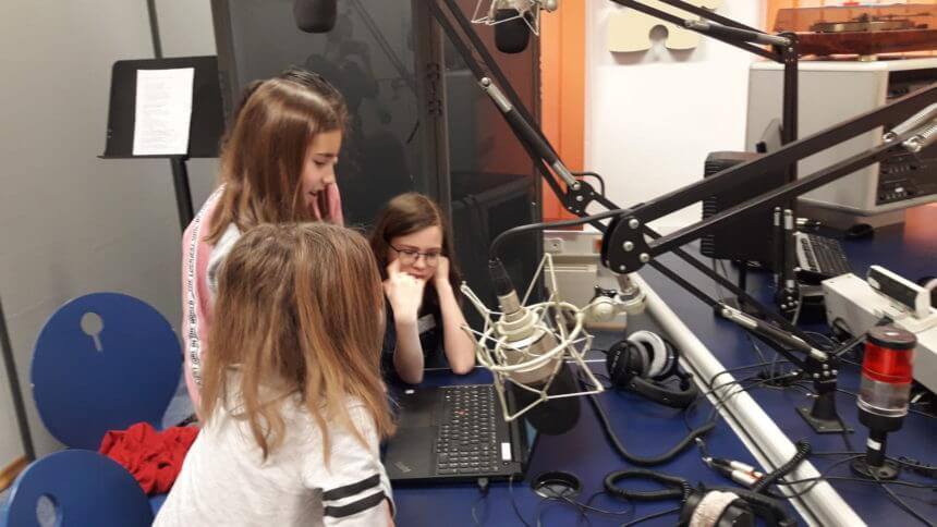 Hörspielprojekt der Klasse 4a