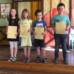 Mathematik-Wettbewerb der Schuleingangsphase am 12. Juni 2019 1
