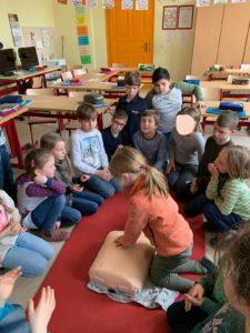 DRK-Lehrgang der Lerngruppe Feuer 1
