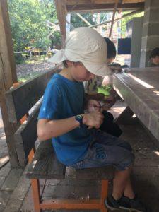 Wandertag der Lerngruppe Erde zum Kreativspielplatz am 26. Juni 2019 3