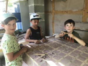 Wandertag der Lerngruppe Erde zum Kreativspielplatz am 26. Juni 2019 6