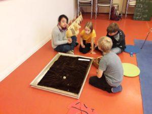 Klasse 3a zur interkulturellen Woche in der Kinder-und Jugendbibliothek 4