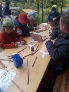 Lerngruppe Wasser zum Herbstfest auf der EGA 1