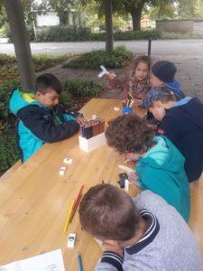 Lerngruppe Wasser zum Herbstfest auf der EGA 2