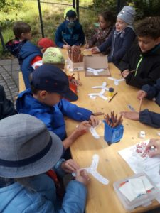 Lerngruppe Wasser zum Herbstfest auf der EGA 5