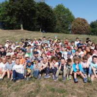 Wandertag aller Lerngruppen zum Riethspielplatz